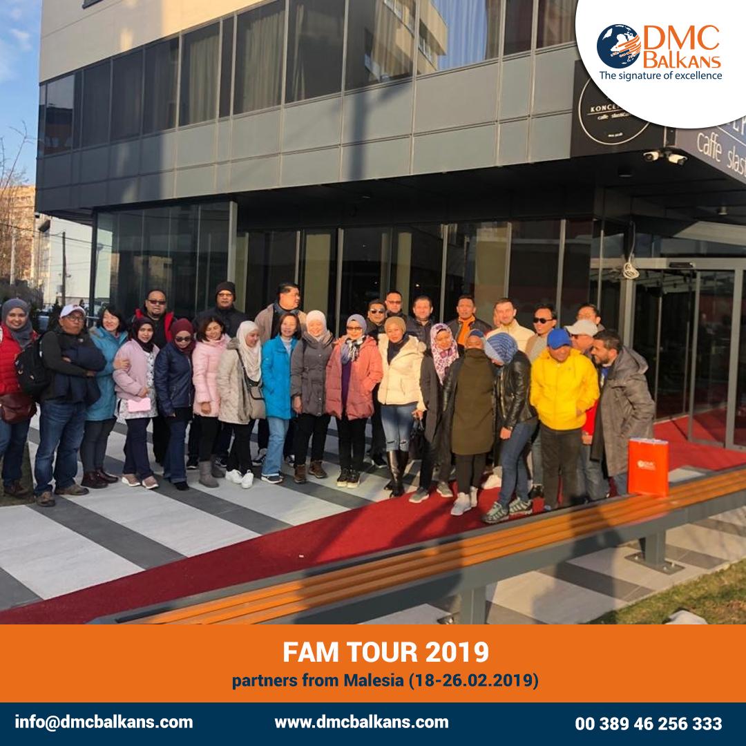 FAM Tour 2019 - successfully organized by DMC Balkans