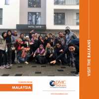 Tourists from Malaysia