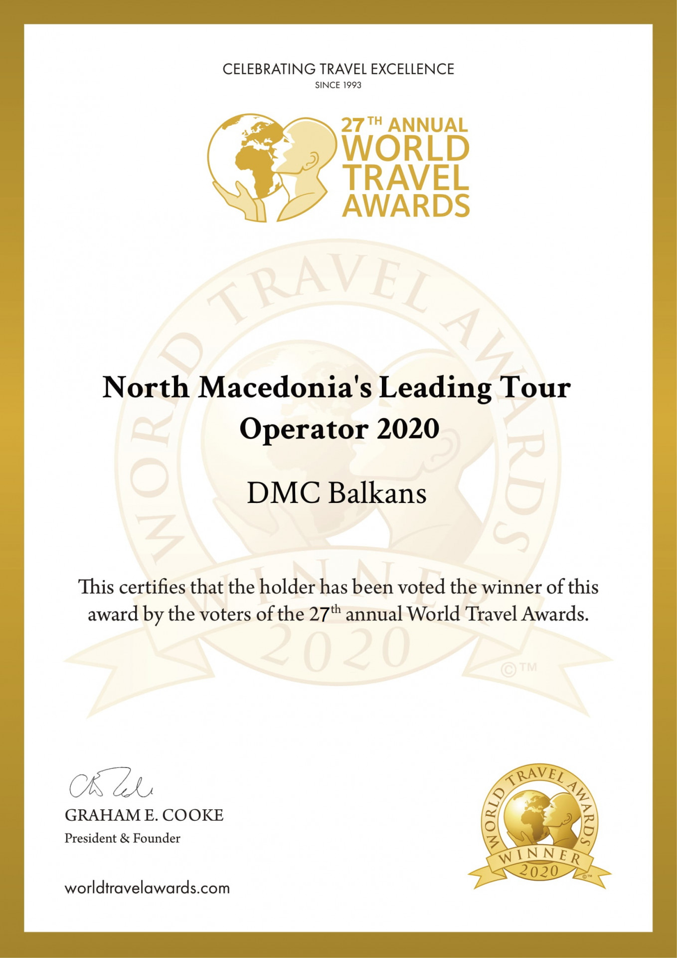 DMC Balkans Travel & Events -The best 2020 inbound tour operator for N.Macedonia and the Bal