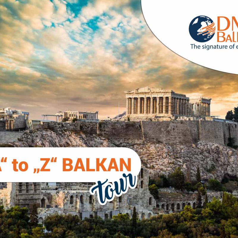 """""""A"""" to """"Z"""" Balkan Tour"""