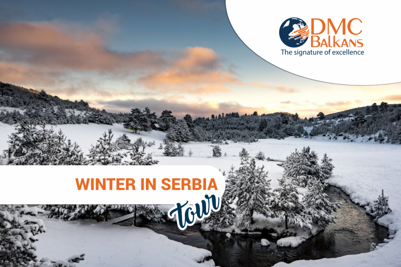 Winter in Serbia