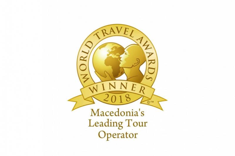 World Travel Award - Macedonia's Leading Tour Operator 2018