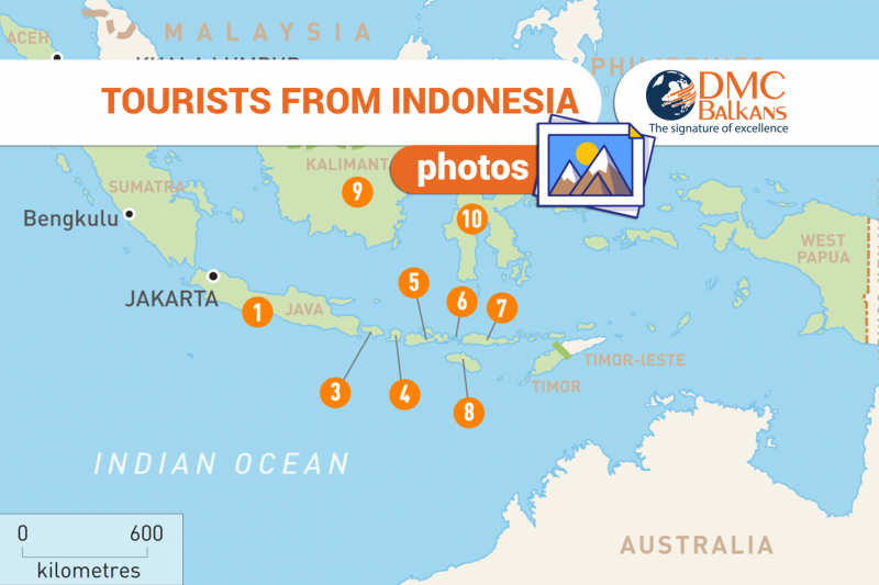 Tourists from Indonesia