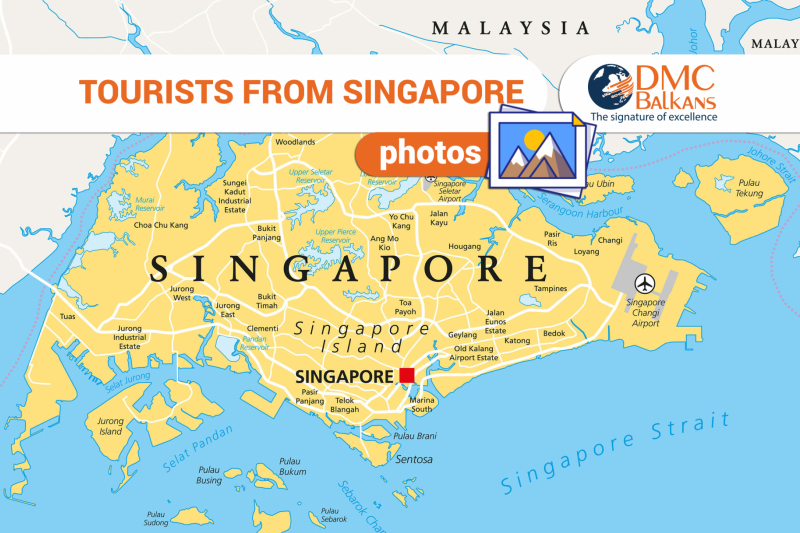 Tourists from Singapore