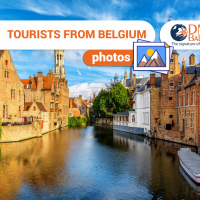 Tourists from Belgium