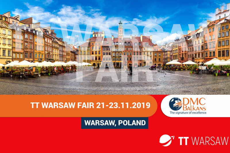 DMC Balkans Travel & Events on TT Warsaw Fair 2019