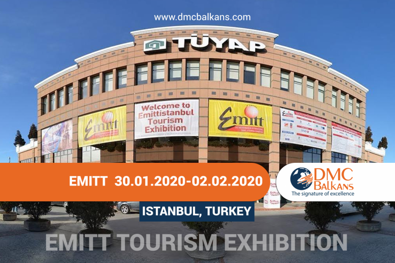 DMC Balkans Travel & Events at EMITT Tourism Exhibition 2020